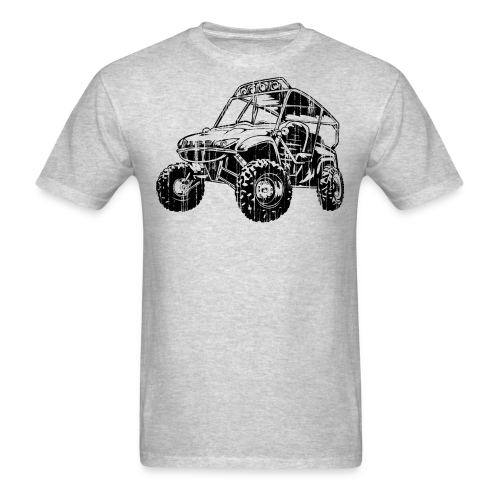 UTV side-x-side, distressed - Men's T-Shirt
