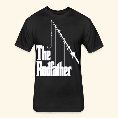 Rodfather   T-Shirts - Fitted Cotton/Poly T-Shirt by Next Level