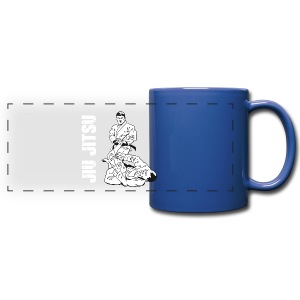 Jiu Jitsu Leg Lock blue mug - Full Color Panoramic Mug