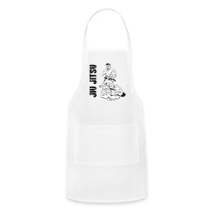 Jiu Jitsu Leg lock button - Adjustable Apron