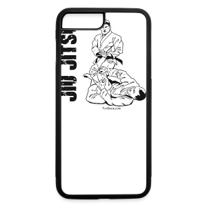 Jiu Jitsu Leg lock button - iPhone 7 Plus/8 Plus Rubber Case