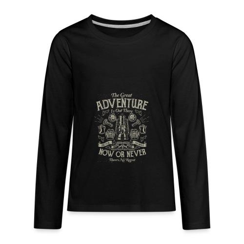 The Great Adventure - Kids' Premium Long Sleeve T-Shirt