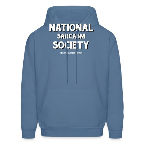 National Sarcasm Society - Men's Hoodie