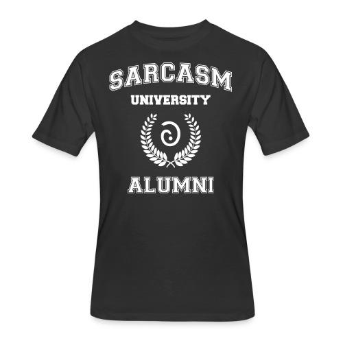Sarcasm University Alumni - Men's 50/50 T-Shirt