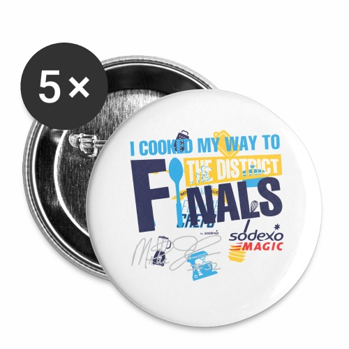 Sodexo Youth 2018 - Buttons large 2.2'' (5-pack)