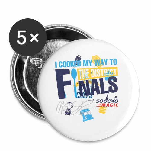 Sodexo Youth 2018 - Buttons small 1'' (5-pack)