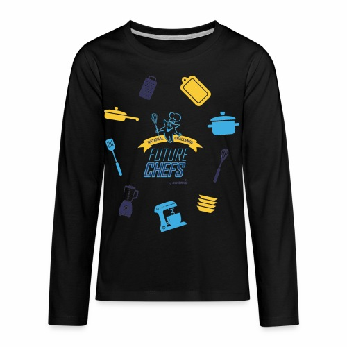 Sodexo Youth 2018 - Kids' Premium Long Sleeve T-Shirt