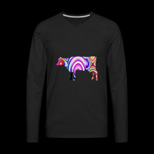 Cow - Men's Premium Long Sleeve T-Shirt