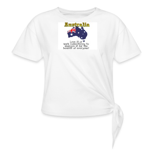 Women's Knotted T-Shirt