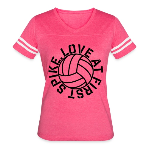 Love at first Spike Volleyball elite player trainer t-shirt  - Women's Vintage Sport T-Shirt