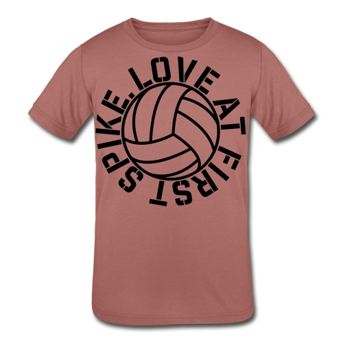 Love at first Spike Volleyball elite player trainer t-shirt  - Kid's Tri-Blend T-Shirt