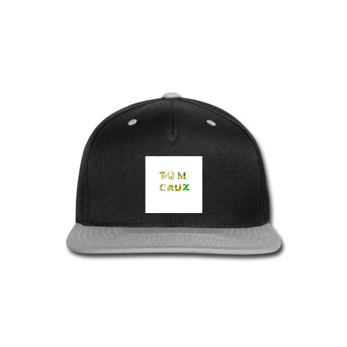 Fitted Cotton/Poly T-Shirt by Next Level - Snap-back Baseball Cap