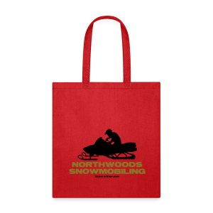 Northwoods Snowmobiling - Tote Bag
