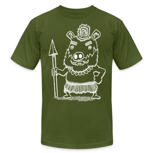 Antonio the Tribal Adventurer - Men's Fine Jersey T-Shirt