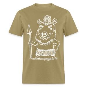 Antonio the Tribal Adventurer - Men's T-Shirt