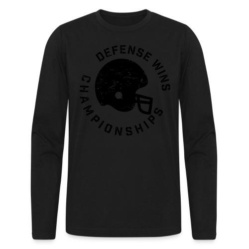 Defense Wins Championships Football elite team shirt - Men's Long Sleeve T-Shirt by Next Level