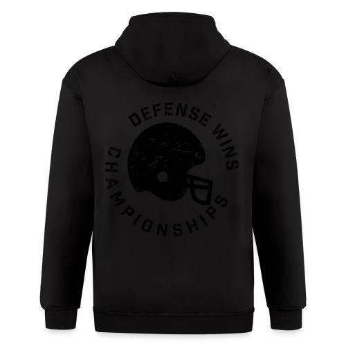 Defense Wins Championships Football elite team shirt - Men's Zip Hoodie