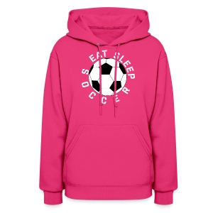 Eat Sleep Soccer elite team player shirt - Women's Hoodie
