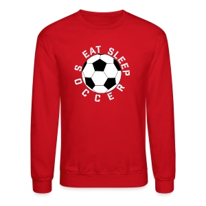 Eat Sleep Soccer elite team player shirt - Crewneck Sweatshirt