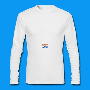 Bleeding Mug - Men's Long Sleeve T-Shirt by Next Level