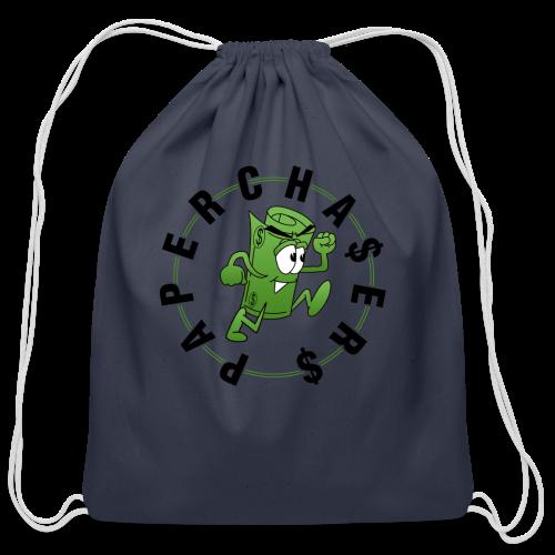 Paper Chase  - Cotton Drawstring Bag