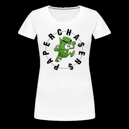 Paper Chase  - Women's Premium T-Shirt