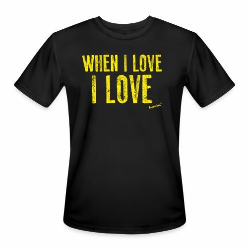 When I love I love by Francisco Evans ™ - Men's Moisture Wicking Performance T-Shirt