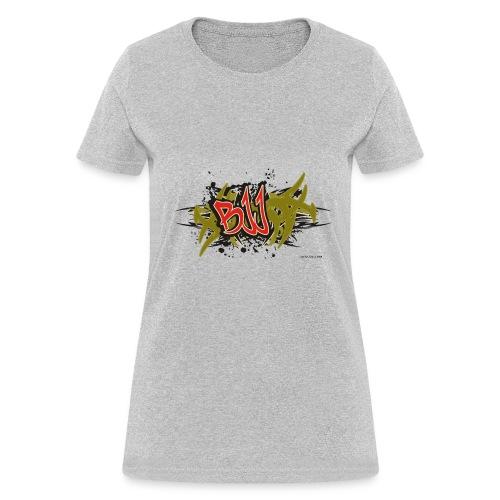 Jiu Jitsu - BJJ Graffiti Women's Tank Top - Women's T-Shirt