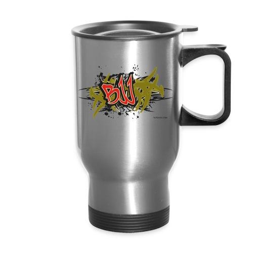 Jiu Jitsu - BJJ Graffiti Women's Tank Top - Travel Mug