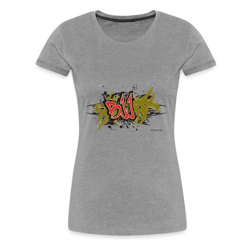 Jiu Jitsu - BJJ Graffiti Women's Tank Top - Women's Premium T-Shirt