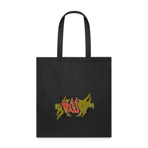 Jiu Jitsu - BJJ Graffiti Women's Tank Top - Tote Bag