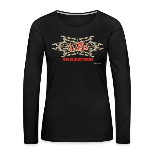 Jiu Jitsu - Path To Enlightenment Women's Tank Top - Women's Premium Long Sleeve T-Shirt