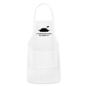UFO: Farrakhan is Right! - Adjustable Apron