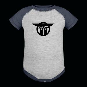 Trey Teem Baseball Jersey - Baby Contrast One Piece