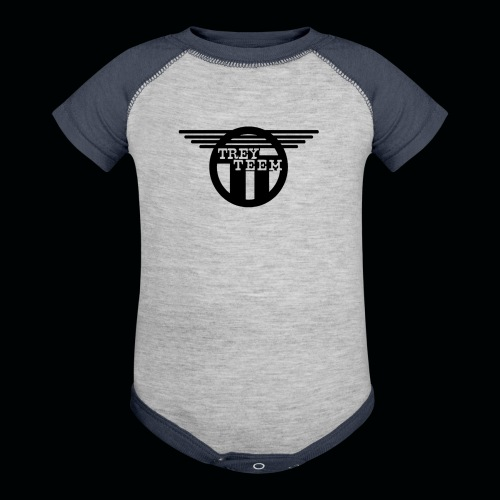 Trey Teem Baseball Jersey - Contrast Baby Bodysuit