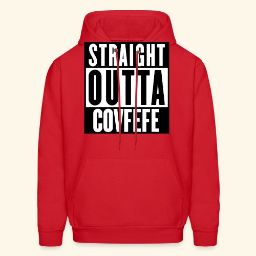 straight outta covfefe  - Men's Hoodie