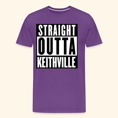 STRAIGHT OUTTA KEITHVILLE T-Shirts - Men's Premium T-Shirt