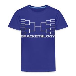 Bracketology Basketball Tournament Bracket Expert shirt - Toddler Premium T-Shirt
