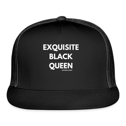 Exquisite Black Queen Black Women's T-shirt Clothing by Stephanie Lahart. #10 - Trucker Cap