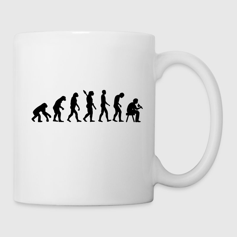 Tattoo artist evolution Accessories - Coffee/Tea Mug