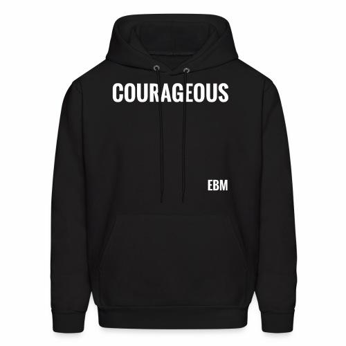 Courageous Black Males Black Men's T-shirt Clothing by Stephanie Lahart. - Men's Hoodie
