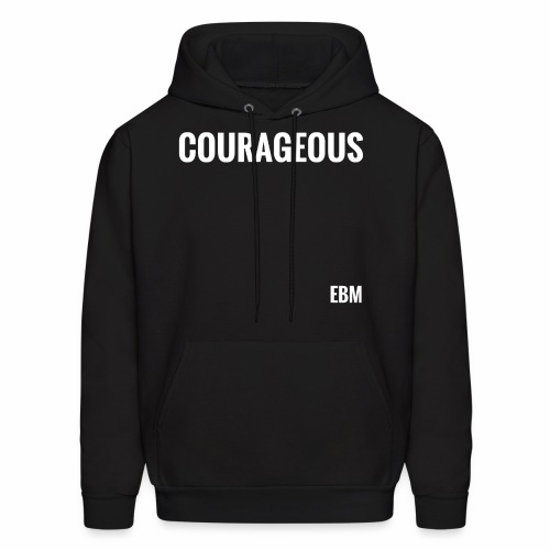 Courageous Black Males Black Men's T-shirt Clothing by Stephanie Lahart. - Men's Hoodie