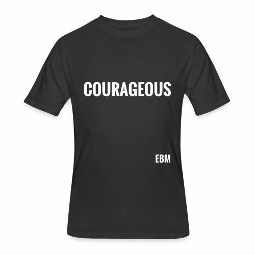 Courageous Black Males Black Men's T-shirt Clothing by Stephanie Lahart. - Men's 50/50 T-Shirt