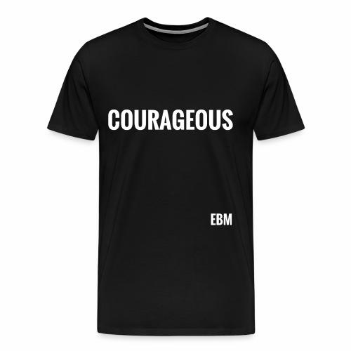 Courageous Black Males Black Men's T-shirt Clothing by Stephanie Lahart. - Men's Premium T-Shirt