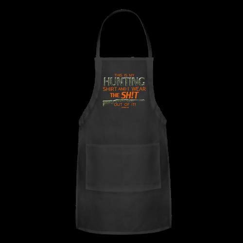 My Hunting Shirt  (Digital Print) - Adjustable Apron