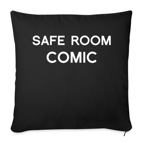 Safe Room Comic - Cake - Throw Pillow Cover