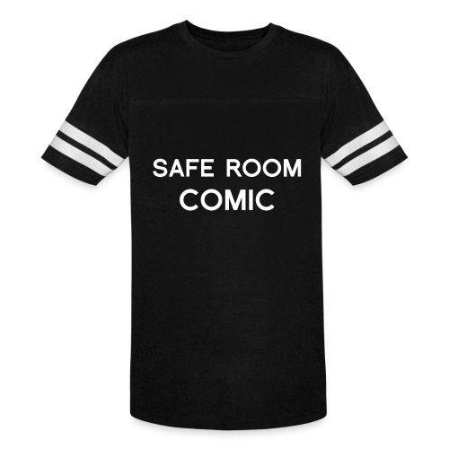 Safe Room Comic - Cake - Vintage Sport T-Shirt