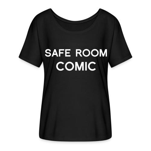 Safe Room Comic - Cake - Women's Flowy T-Shirt
