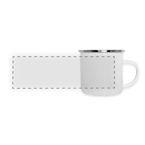 Safe Room Comic - Cake - Panoramic Camper Mug