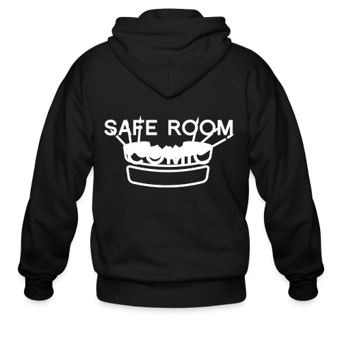 Safe Room Comic - Cake - Men's Zip Hoodie